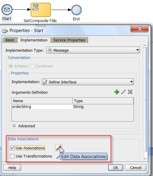 Data Associations