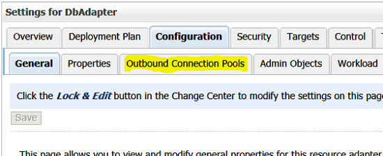 Outbound Connection Pools