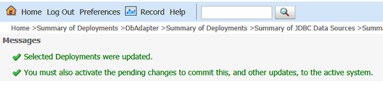 Deployments Updated Msg