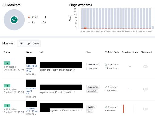 Using Elastic Uptime Monitoring to Monitor Mule 2