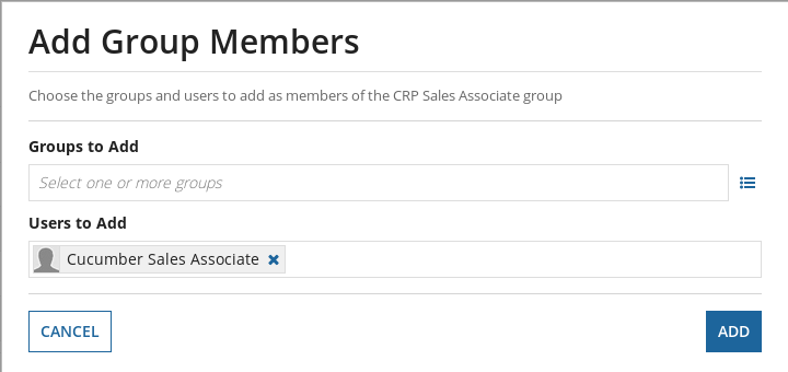 Add Group Members