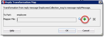 Create the XSLT Transformation mapper file