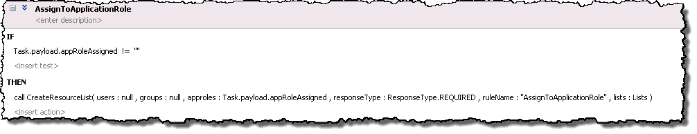 Assign to an Application Role