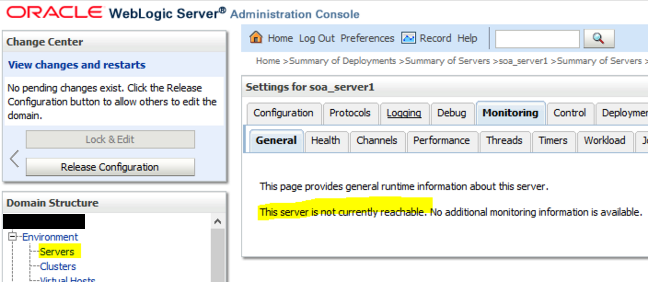 The server is not currently reachable