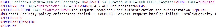ICS - Requires Authorization