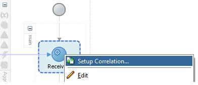 setup correlation