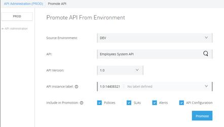 Promote API