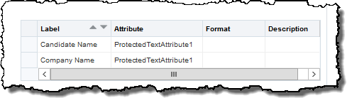 Protected Flex Field assigned multiple labels
