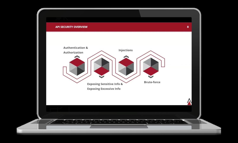 MuleSoft API Security Webinar - Laptop