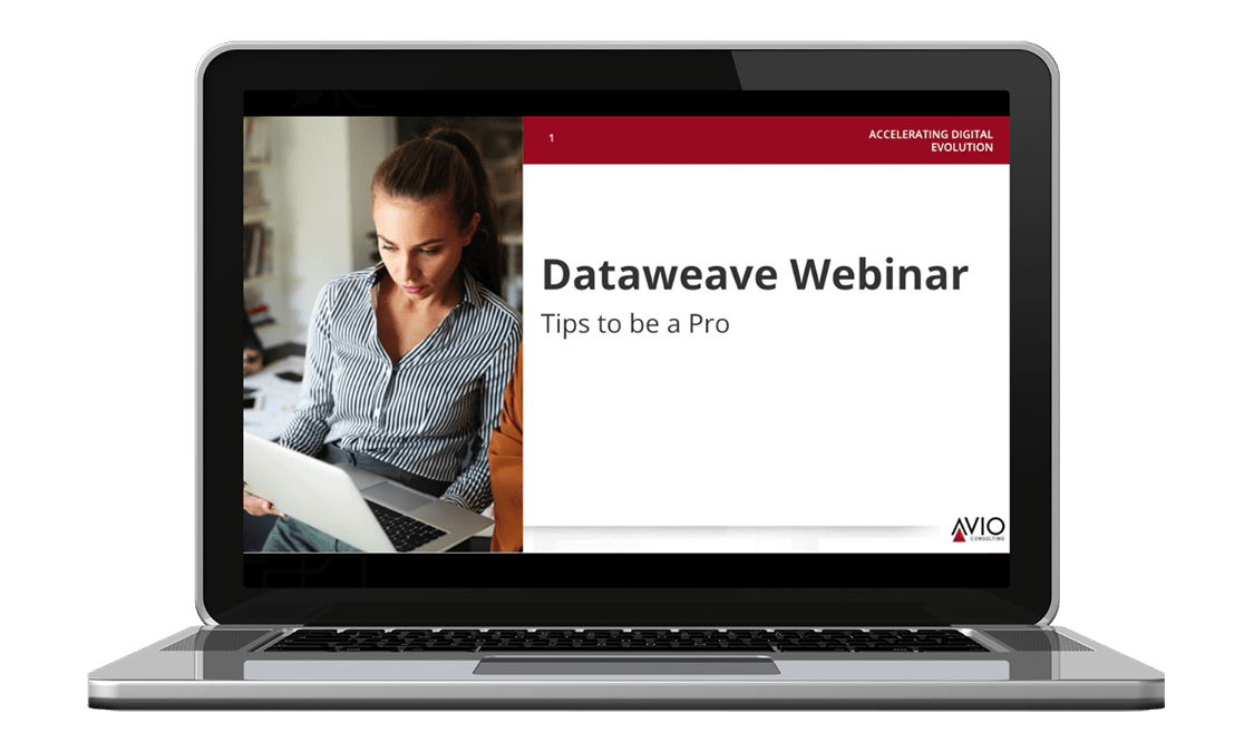 Webinar Preview - How to Use DataWeave Like a Pro (1)
